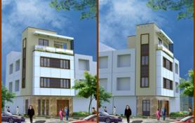 Thiết kế nhà phố trong ngõ ngách 2 mặt tiền đơn giản và hiện đại