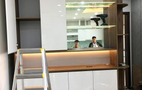Quá trình hoàn thiện căn hộ B1002 Anland Fremium Nam Cường – Hà Đông – Hà Nội