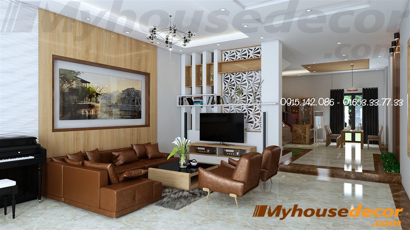 Thi công nội thất nhà Anh Bách – The Manor Eco Lào Cai