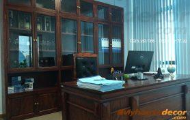 Thi công nội thất văn phòng Công ty cổ phần 299 – Hà Nội