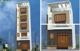 Thiết kế kiến trúc nhà phố 5 tầng hiện đại và ấm cúng – Hồ Tây