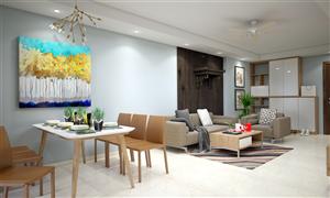 Nội thất hiện đại với gỗ công nghiệp cao cấp – T&T Riverview 440 Vĩnh Hưng