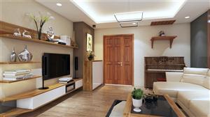 Nội thất trong căn hộ cao cấp Udic Riverside – 122 Vĩnh Tuy