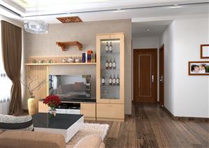 Thiết kế nội thất chung cư cao cấp nhà Anh Tuấn – Thăng long Number one