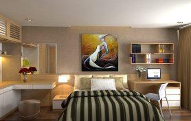 Thiết kế nội thất chung cư cao cấp nhà Anh Tú – Thăng long Number one