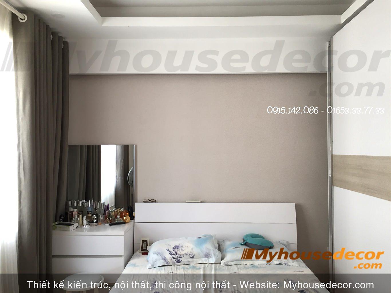 Thi công nội thất căn hộ Chung cư G3C Vũ Phạm Hàm