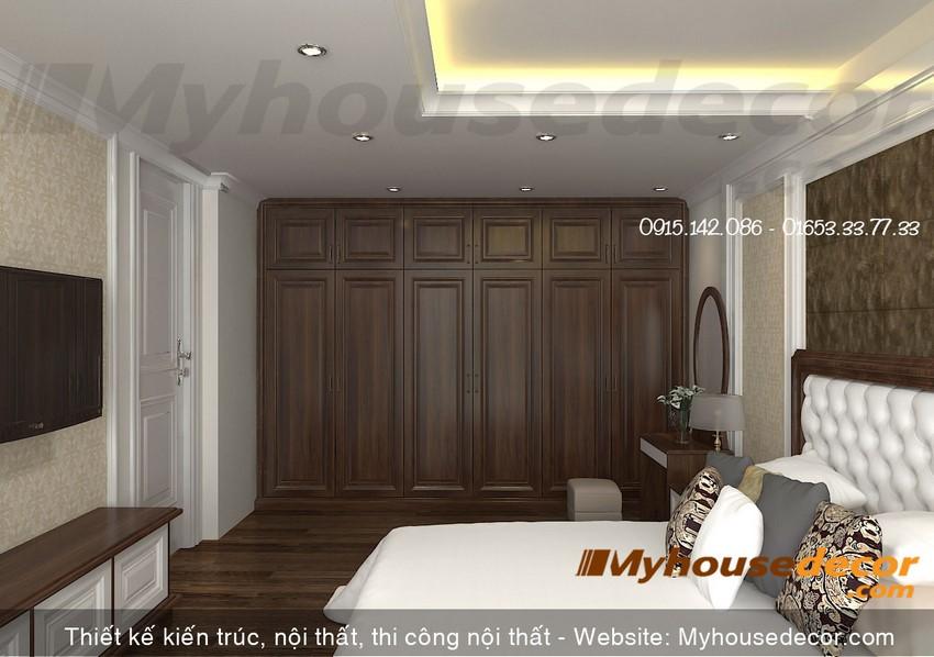 Phòng ngủ vợ chồng hiện đại sang trọng