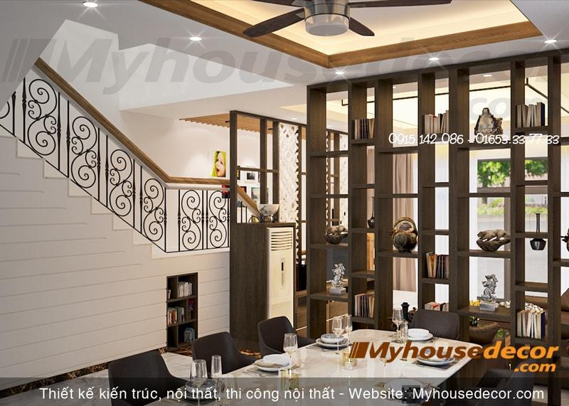 Thiết kế phòng ăn căn hộ the Manor Eco+ Lào Cai