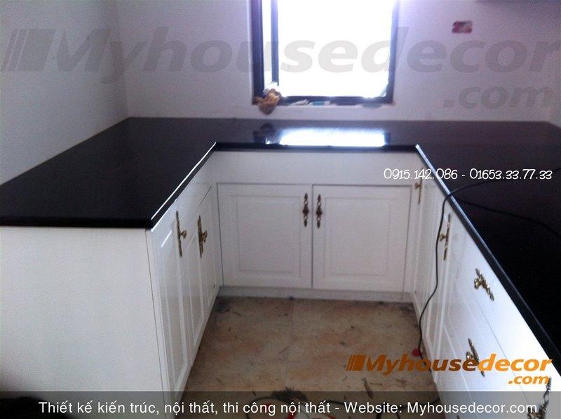 thiết kế bàn bếp
