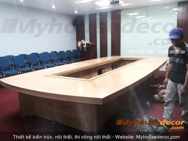 thiết kế nội thất phòng họp độc đáo