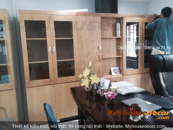 thiết kế nội thất chuyên nghiệp văn phòng
