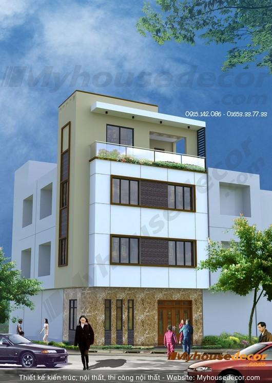 đơn giá thiết kế kết cấu nhà phố