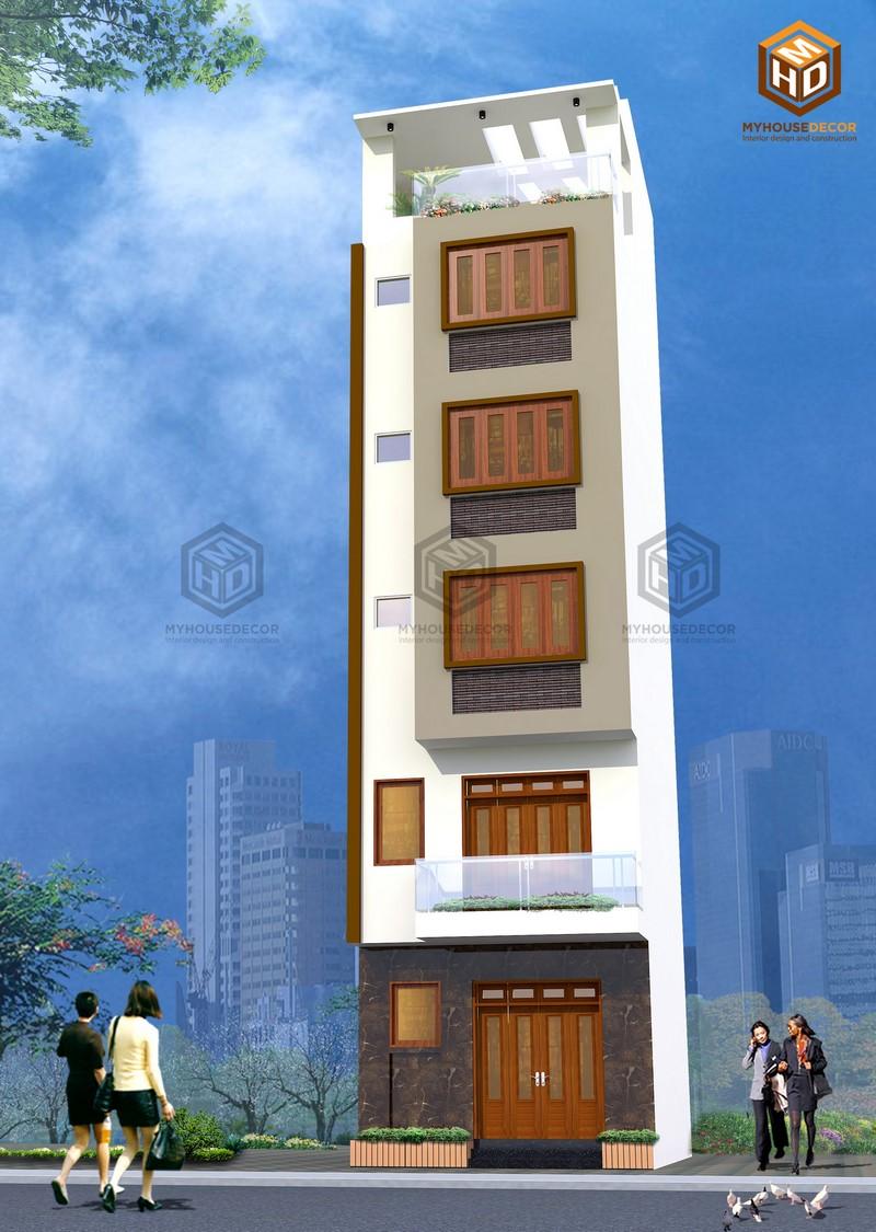 Thiết kế kiến trúc nhà đẹp hiện đại
