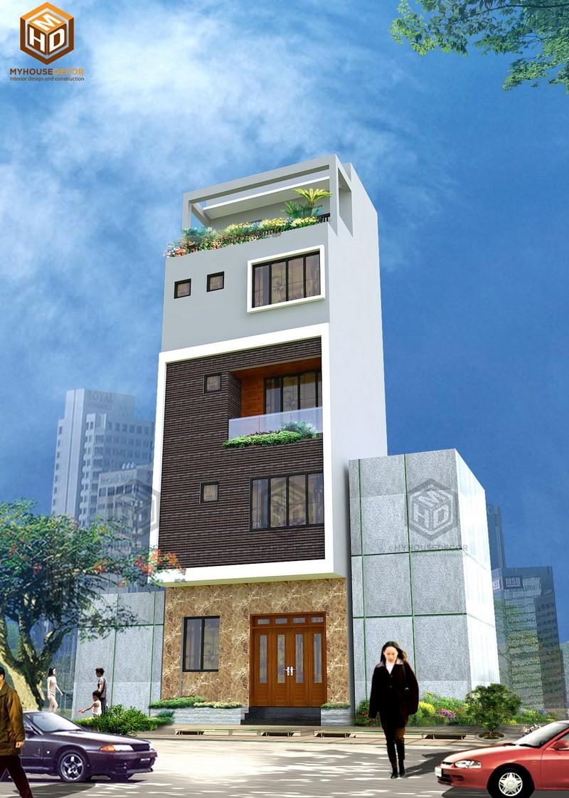 Thiết kế kiến trúc nhà ở đẹp hiện đại
