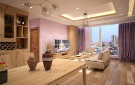 Thi công nội thất chung cư gỗ sồi tự nhiên – Nhật ký thi công