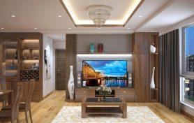 Thi công nội thất chung cư gỗ tự nhiên – Nhật ký thi công