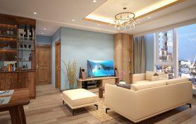 Hoàn thiện nội thất với gỗ sồi tự nhiên – Cô. Nguyễn Nguyệt Tĩnh