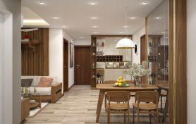Thiết kế nội thất căn hộ Anland Premium Dương Nội – 67m2
